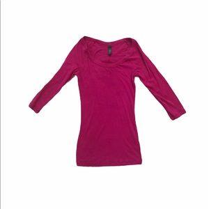 Victoria's Secret quarter sleeve top